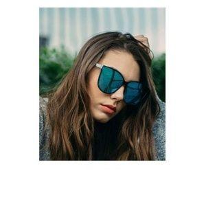 Cat Eyes Sunglasses for Women, Polarized Oversized